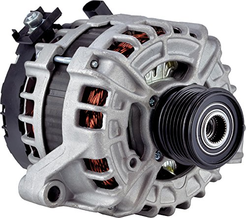 0-24260 Alternator for 2.5L 1 Clock 180 Amp Internal Fan Type Clutch Pulley Type Internal Regulator CW Rotation 12V Volvo V60 CROSS COUNTRY 2015 2016 125811005 125811020 11164 ()