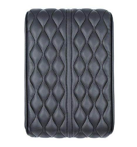 Aimban S Premium Car Center Console Armrest Cushion Lid Box Cover Protector PU Leather & Memory Foam Pad - ()