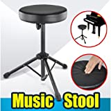 TOOGOO(R) Quality Folding Music Guitar Keyboard Drum Stool Rock Band Piano Chair Seat