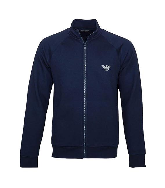 Emporio Armani Sweater Chaqueta con Cremallera 111570 8 A571 00135 Marino SH18 de eas1 Marine XL