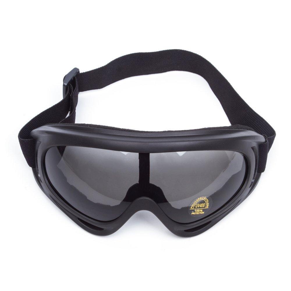 SunTime Gafas Moto al Aire Libre Deportivas Ajustable con Protección UV