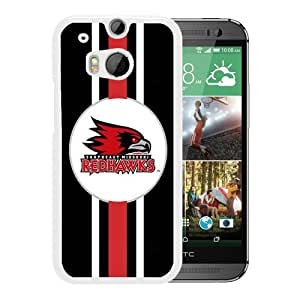 NCAA southeast missouri state Redhawks 5 White Hard Shell Phone Case For HTC ONE M8