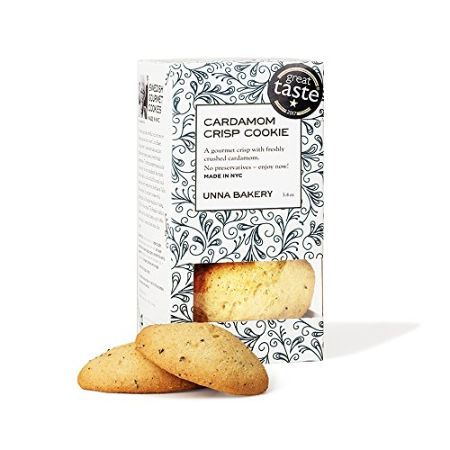 - Unna Bakery, Cardamom Crisp (biscotti) cookie. A minty, spicy, herbal and fragrant cookie.