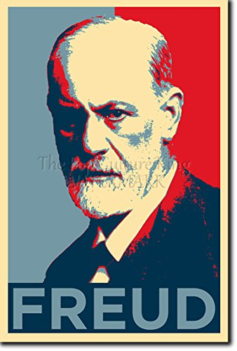 Sigmund Freud Art Print 'Hope' High Quality Photographic Poster - Unique Gift