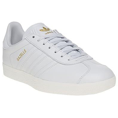 gazelle adidas mujer blanco