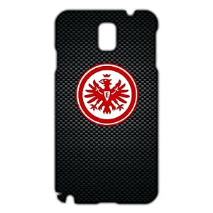 Eintracht Frankfurt Logo Phone Case for Samsung Galaxy Note 3 3D Hard Black Plastic Cover