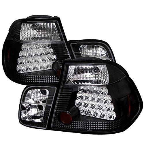 Spyder BMW E46 3-Series 99-01 4DR LED Tail Lights - Black