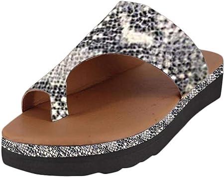 riou 2019 Nuevas Mujeres Cómodas Plataforma Sandalia Zapatos Romanas Verano Playa Viajes Zapatillas Moda Sandalias Cómodas Damas Zapatos Plataforma(Oro, 37)