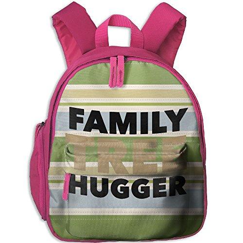 Treehugger Costume (Toddler Kids Family Tree Hugger Pre School Travel Camping Backpack Pink)