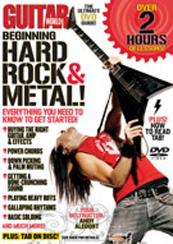 - Guitar World -- Beginning Hard Rock & Metal!: Everything You Need to Know to Get Started (DVD)
