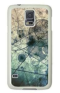 Vintage Design White Hard Case Cover Skin For Samsung Galaxy S5 I9600