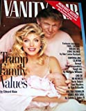 Vanity Fair Magazine March 1994 Donald Trump & Marla Maples (Single Back Issue)