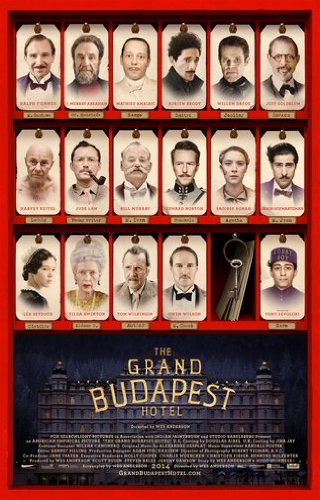 Grand Budapest Hotel mini movie poster 11X17 Mini Poster