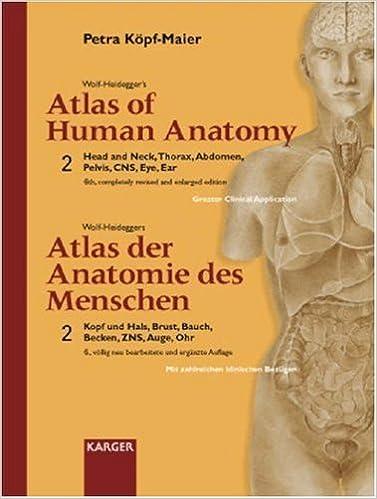 Wolf-Heidegger\'s Atlas of Human Anatomy / Wolf-Heideggers Atlas Der ...
