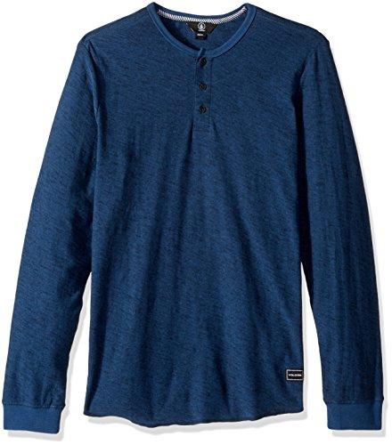 Volcom Men's Moxie Long Sleeve Shirt, SMB, S