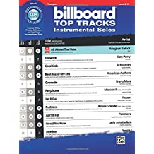 Billboard Top Tracks Instrumental Solos: Trumpet, Book and CD