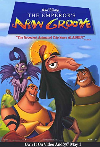 Movie Posters 27 x 40 The Emperor's New Groove