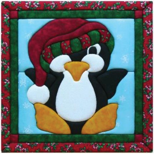 Quilt Magic 12-Inch by 12-Inch Penguin Kit by Quilt Magic