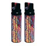 Cheap Wildfire Pepper Spray 4 oz Bundle – Lot of (2) Units – Wildfire 4 oz Stream Spray Canister (x2)