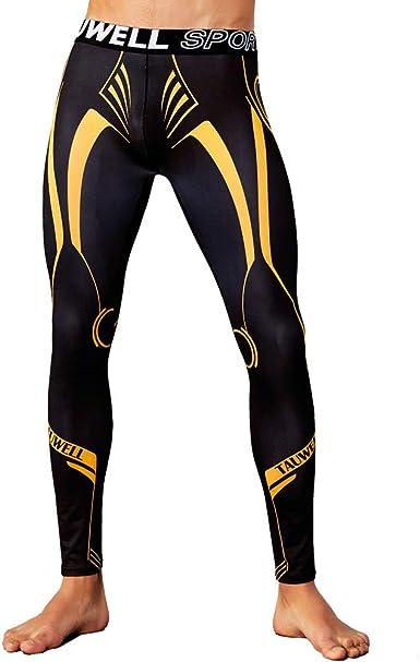 Leggins Hombres Deporte Pantalones Deportivos de Colores para ...