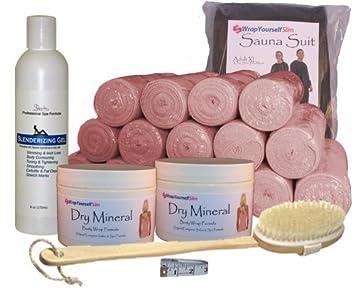 Amazon wrap yourself slim dry mineral clay body wrap kit wrap yourself slim dry mineral clay body wrap kit solutioingenieria Images