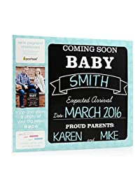 We're Pregnant Chalkboard by Pearhead BOBEBE Online Baby Store From New York to Miami and Los Angeles