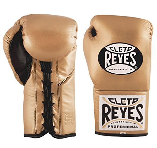 (Cleto Reyes Official Fight Boxing Gloves - Gold - 10oz)