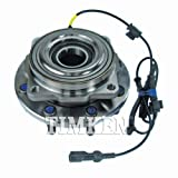 Timken SP940201 Front Wheel Bearing and Hub Assembly