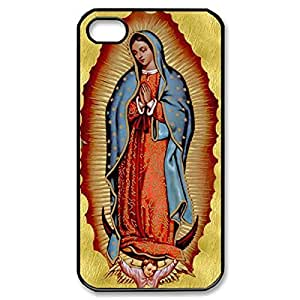 Diy design iphone 6 (4.7) case, Custom Case- Virgin Mary Christian and Child Baby Jesus Hard Plastic When Back Case six for iPhone 4 iPhone bathwater6 (Black 020347) a