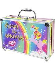 Enchanted World of Beauty Case, Make-up Tas met Kleurrijke Beauty Producten, Fun Make-up Kit, Kleurrijke Accessoires, Speelgoed en Cadeau voor Kinderen en Meisjes