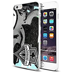 diy zhengSoccer MLS Seattle Sounders FC ,Cool iPhone 6 Plus Case 5.5 Inch Smartphone Case Cover Collector iphone TPU Rubber Case White