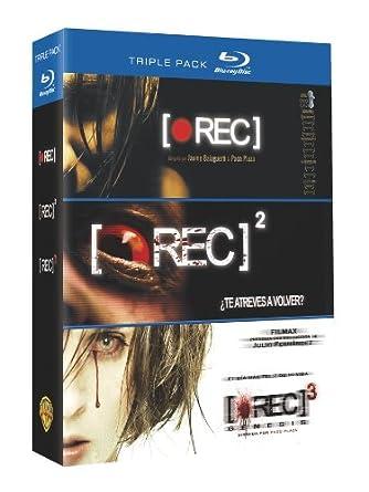 Pack: Rec 1 + Rec 2 + Rec 3 [Blu-ray]: Amazon.es: Manuela Velasco ...