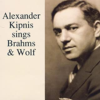 product image for Alexander Kipnis sings Brahms & Wolf (Lebendige Vergangenheit)