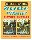 Brain Games Picture Puzzles: Remember When? (Brain Games (Unnumbered))