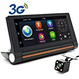 Best Gps Cameras - junsun 7-inch Android Car DVR GPS Camera 3G Review