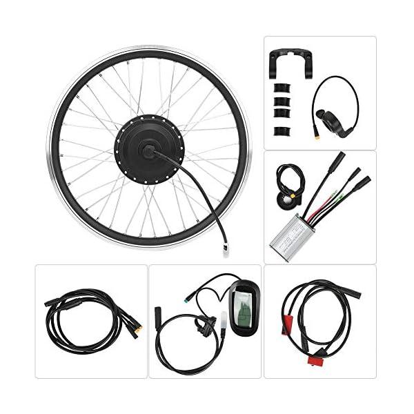 T best Kit di conversione per Bicicletta elettrica, Kit di conversione per mozzo per Bicicletta con Motore per… 5 spesavip