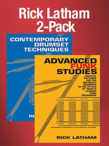 Rick Latham 2-Pack (Advanced Funk Studies + Contemporary Drumset Techniques) [Instant Access]