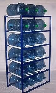 Amazon Com Shaco Racks 5 Gallon Water Bottle Storage Rack