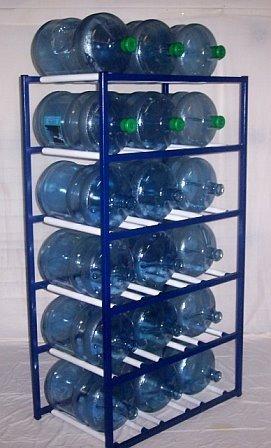Incroyable ShaCo Racks 5 Gallon Water Bottle Storage Rack With 18 Bottle Capacity