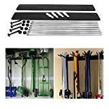 Rough Rack Ski & Snowboard 4-8 Wall Hanging Holder Garage Storage
