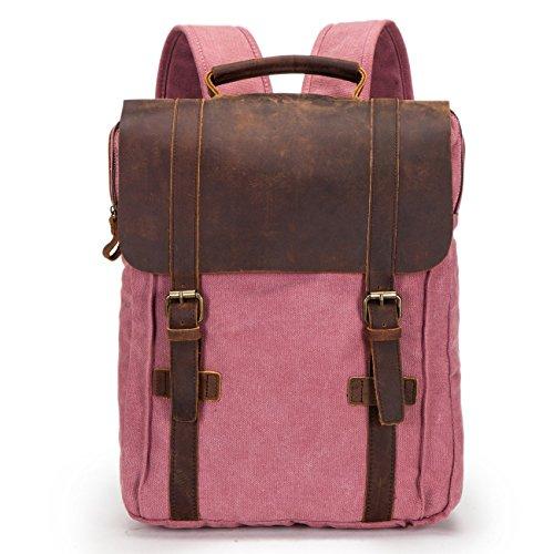 de ocio 30 de mochila ordenador 4 bolsa alto caqui picnic nbsp;cm nbsp;colores de estudiante lienzo bagehua nbsp;cm ancho viaje 40 rosa largo de mochila 10 Retro nbsp;cm nq0HCAOxOZ
