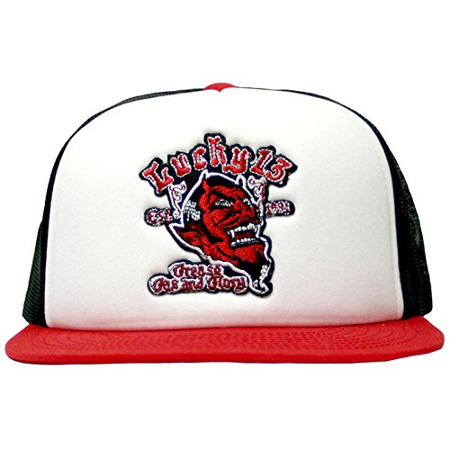 Lucky 13 Grease Gas & Glory Foam Mesh Trucker Hat