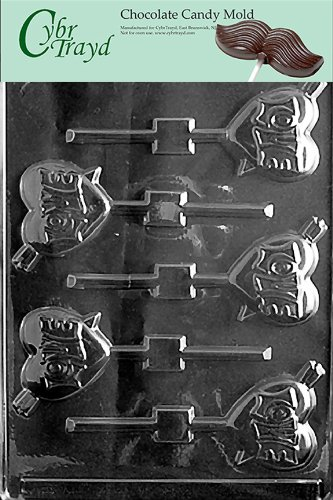 LOVE ARROCavity Capacity in oz:LOLLY chocolate candy mold