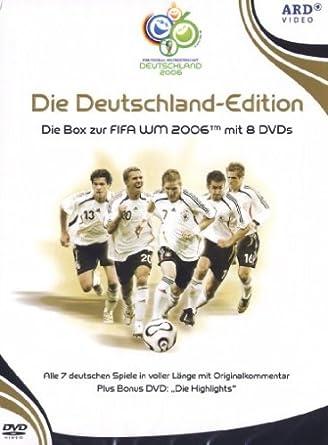 Fifa Wm 2006 Die Deutschland Edition 8 Dvds Amazon De