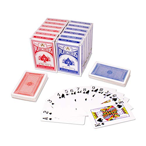 12 Pack Playing Cards