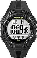 Timex Men's TW5K94800M6 maratón pantalla Digital de cuarzo Negro Reloj