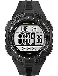 Men's TW5K94800 Digital Full-Size Black Resin Strap Watch