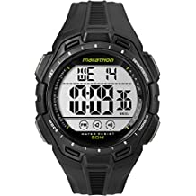 Marathon by Timex Men's TW5K94800 Digital Full-Size Black Resin Strap Watch