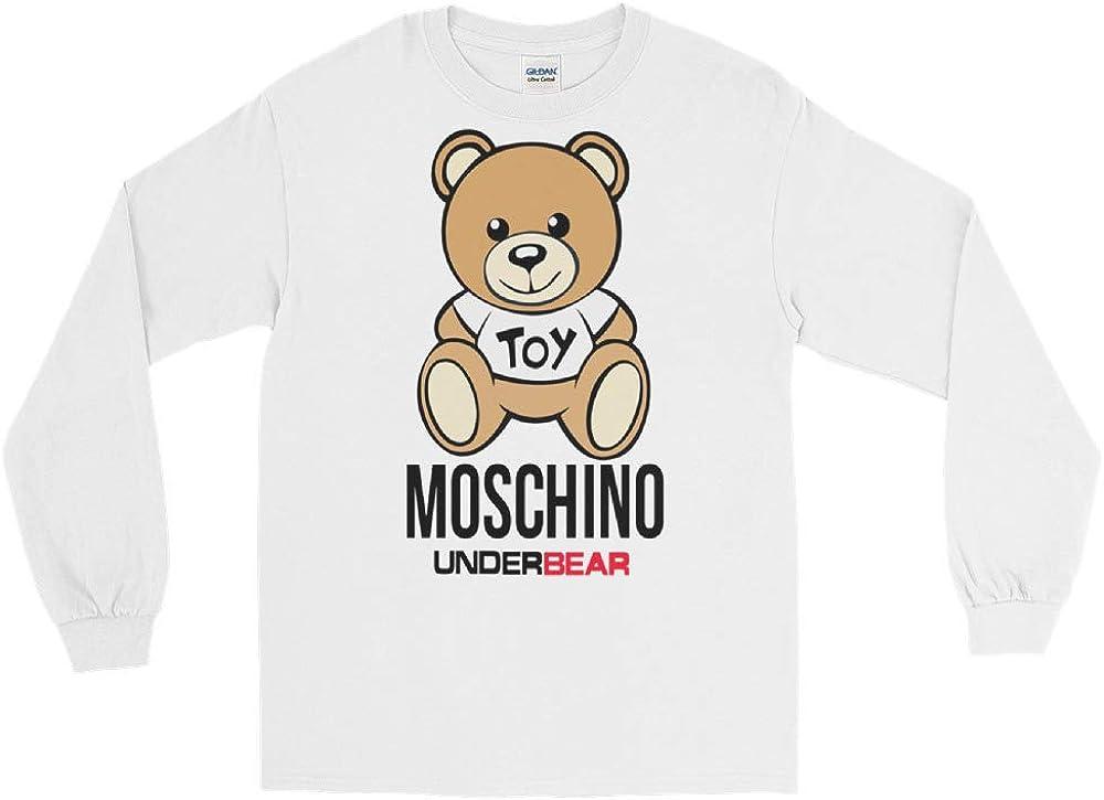 Moschino Underbear Teddy-Bear Milano Long Sleeve T-Shirt