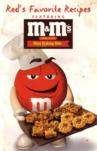 Red's Favorite Recipes: Featuring M&M's Brand Chocolate Mini Baking Bits (Paperback 1997 Printing, MMBAKE2)